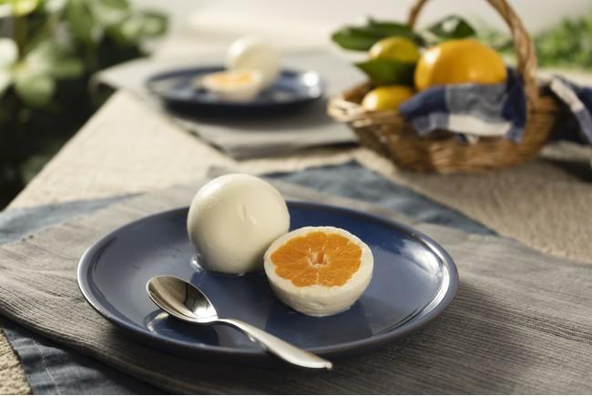 埼玉の乳製品を100%使用したミルクチーズケーキ『湯あがりミルクチーズケーキ工房 ふろまあじゅ』に新作、丸ごとみかん味登場