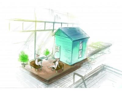 埼玉県初!フィンランドの蒸気うるうるなセルフロウリュ式サウナ小屋が登場!ザリガニ料理やフィンランド産高級泥パックエステも提供開始。