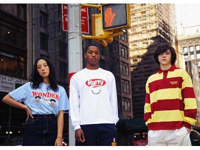 韓国発美大卒4名が立ち上げた人気グラフィックブランド WONDER VISITOR (ワンダービジター) 、 60%(シックスティーパーセント)への出店、販売を開始。