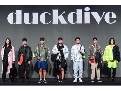 2020年人気No.1韓国モデルがプロデュースするブランド DUCKDIVE(ダックダイブ) 60%(シックスティーパーセント)への出店、販売を開始。