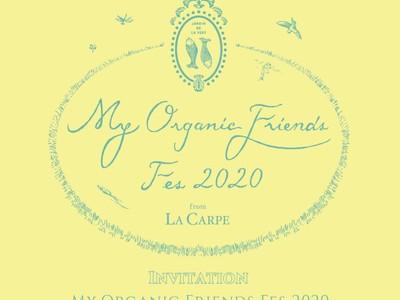 9月4日(金) 表参道にて株式会社ラキャルプが第3回オーガニックフェス『My Organic Friends Fes by Salon de LACARPE 2020』を開催