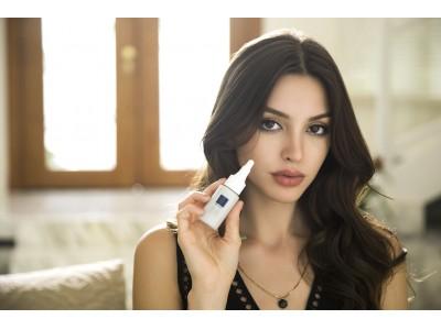 """""""化粧品とは呼ばせない 比類なき美の一滴""""1滴で強力に水素を発生する""""つけたし""""美容液「H2-P(エイチツー・ピー)」 セリーヌ・ファラッチがイメージモデルに就任!"""
