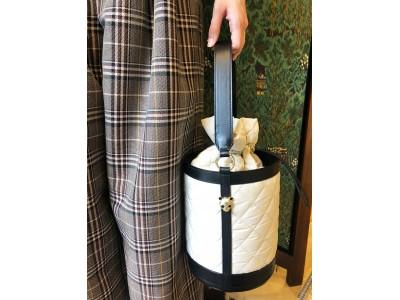 【KEITAMARUAYMA 】ケイタマルヤマの秋冬の新作!パンダキルティングバッグを発売! -TAFFETA QUILTING BAG-