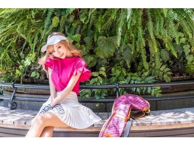 モデル「真優川咲」のモテを意識した #アクティブ女子 のためのゴルフウェアブランド『FlofeSon(フロフェゾン)』8月26日デビュー!