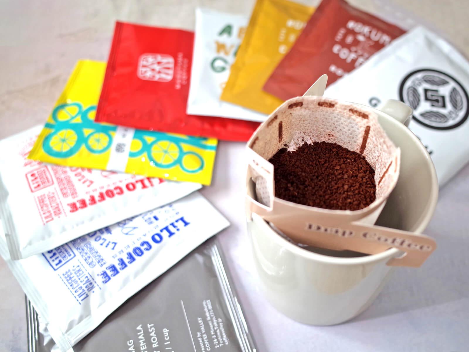 【株式会社CafeSnap】ドリップバッグのセレクトショップ / 人気スペシャルティコーヒー店から厳選した「選べるドリップバッグ」発売開始