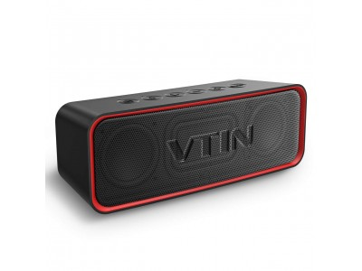 【VTIN】R2 Bluetoothスピーカーが20%オフ!200個限定!迫力の重低音&高音質&長時間再生♪