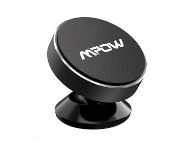 【MPOW】車載ホルダー マグネット式が20%OFF!360度回転で縦横どちらでもスマホをしっかり固定できる♪