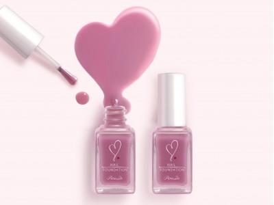 その色は、さりげなく甘く。「両想いピンク」。人気のモテネイルに、絶妙ピンクの夏限定色が登場。