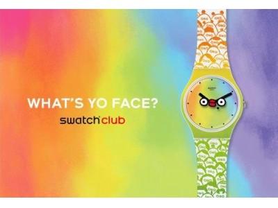 スウォッチから『スペシャル クラブ・ウォッチ』 2019年モデル 『WHAT'S YO FACE』発売!