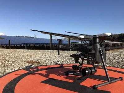 ドローンを活用したこれからの太陽光発電設備メンテナンス