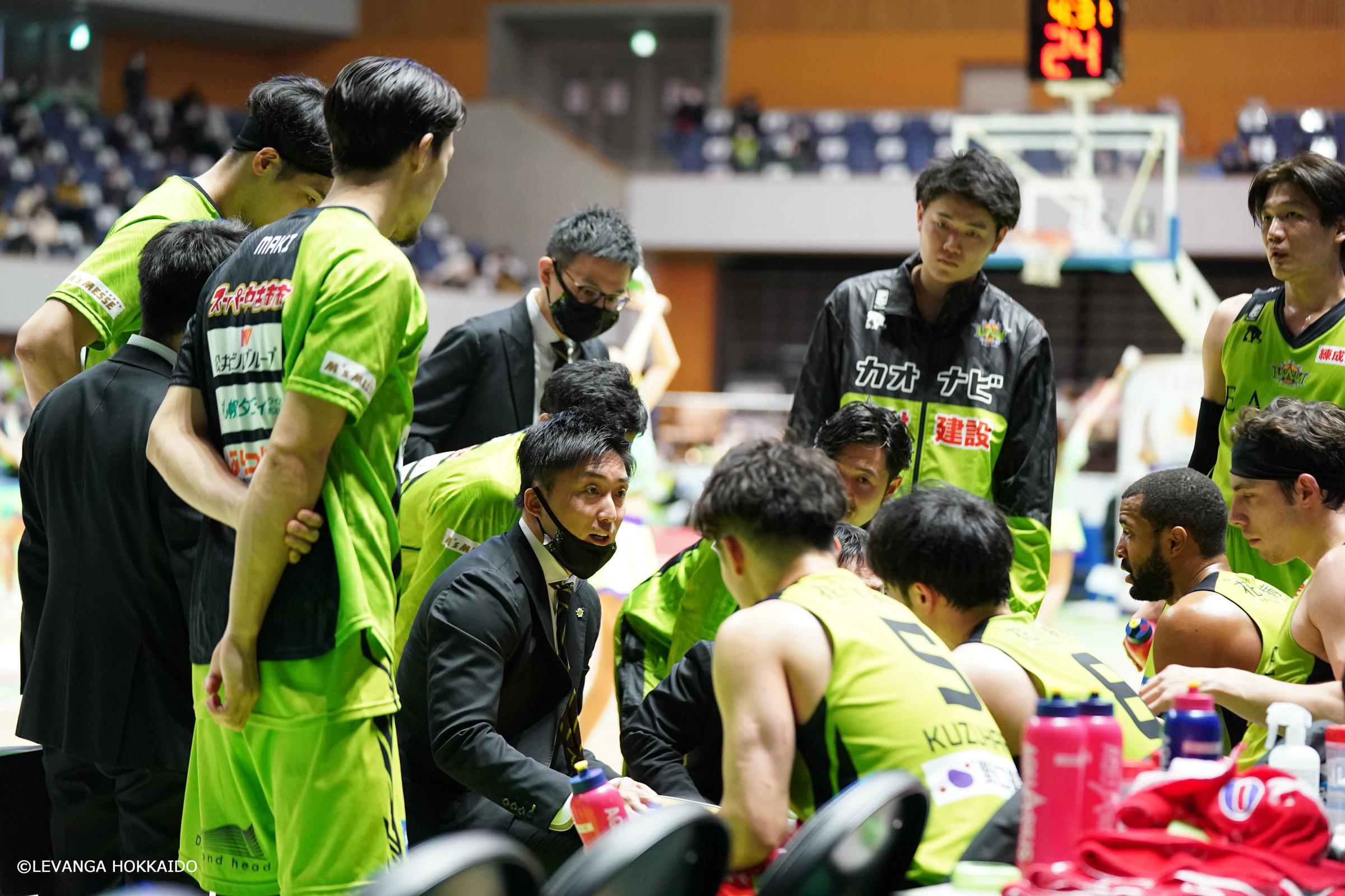 レバンガ北海道ホーム3連勝!横浜に逆転勝利!明日24日13:05TIPOFF!