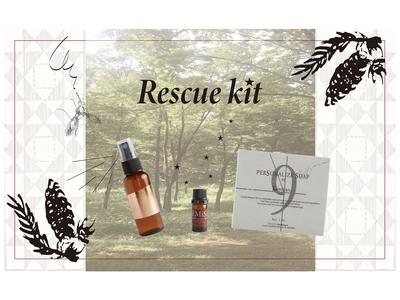 パーソナライズ美容石鹸ブランド「9.kyuu」から夏の新アイテム 除菌ミスト&肌プロテクトソープが作れる「レスキュウキット」新発売