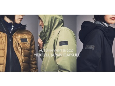 "TRAIL PERFORMANCE, ADOPTED ""TOKYO"" CITY STYLE. メレルの新アパレルライン「JAPAN CAPSULE」FW20シーズンより始動"