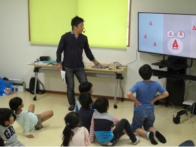 新生・小田急百貨店町田店で、地域連携GWイベントを開催!地元のお父さんたちによる「プログラミング体験会」
