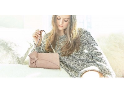 『日本初上陸』可愛くても使いにくいバッグはもうイヤ。抜群に使いやすい上に可愛いバッグが欲しい!超軽量 リボン お財布ショルダーバッグ 海外ブランド『MIRISE未来図/ミライズ』