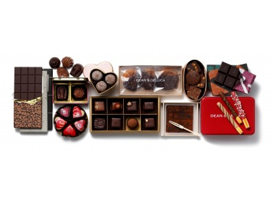 【DEAN & DELUCA】GIFT FOR CHOCOLATE LOVERS チョコレートラバーたちを満足させる、甘い贈り物