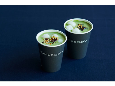 【DEAN & DELUCA】<新発売>シーズナルドリンク 新年を祝う「抹茶しるこ」