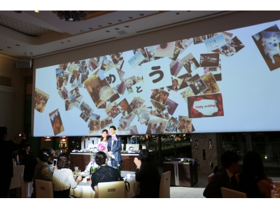 【旭川グランドホテル】旭川市内初!スマホアプリによる婚礼演出アイテム『PHOTO SHOWER』を導入。7月3日開催のウエディングフェアにて発表
