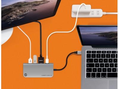 外部ストレージとして使用可能なSSD搭載USB-Cハブ「ALMIGHTY DOCK CS1」がクラウドファンディングで登場!Time Machineでの自動バックアップにも対応!