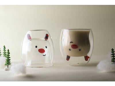 西武秋田店・福井店初登場!飲み物を注ぐと動物が現れるグラス「GOODGLAS(グッドグラス)」を期間限定で販売