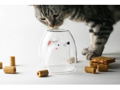 飲み物を注ぐと動物が現れるグラス「GOODGLAS(グッドグラス)」を大丸梅田店において期間限定で販売!