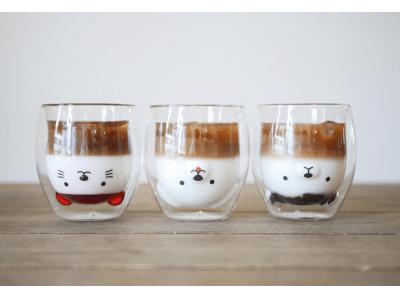 笑顔になるグラス「グッドグラス」と「和田珈琲」がコラボレーション!グッドグラスを使ったドリンクの提供やグラスの販売を実施!