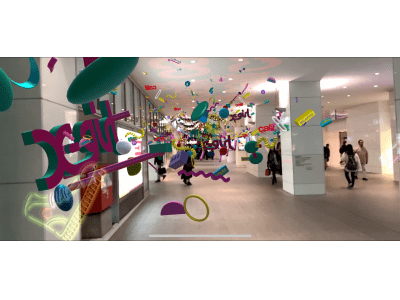 【福岡パルコ】渋谷パルコで話題の最先端テクノロジーアートが福岡初登場!