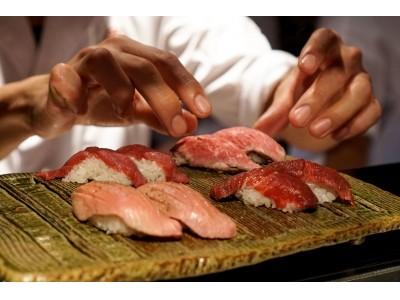 """『上野肉寿司』バリエーションに飛んだ9種類の""""肉寿司食べ放題"""" を毎月29日""""肉の日""""限定で提供!"""