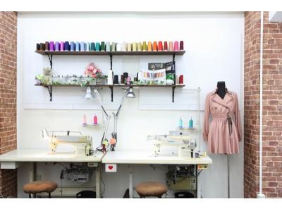 好きなものを 好きな時に 好きなだけ 初心者にもできるプロの技!個別指導型の洋裁教室「aim-rose(エイムローズ)」大阪・梅田に第2号店を2019年9月1日開校!