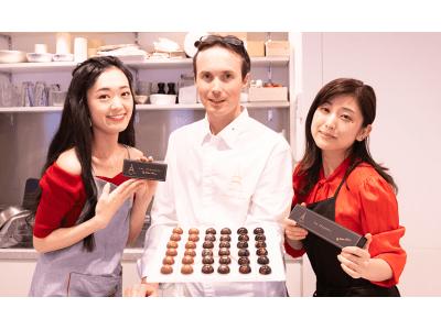 La French Touch(ラ・フレンチ・タッチ)。西武・そごうで販売予定のオリジナル手作りチョコレート「ル ショコラ」の制作過程を大人女性メディア「SIZZLE(シズル)」にて公開!