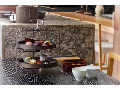 山本山 ふじヱ茶房、アフタヌーンティー『茶菓講(ちゃかこう)』を10月1日より提供開始