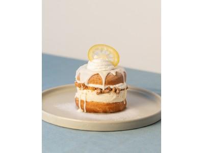 連日行列の話題のドーナツファクトリーkoe donuts kyoto まるでチーズケーキ!?「ドーナツメルト ホワイトチーズケーキ」2月15日(土)より販売スタート!