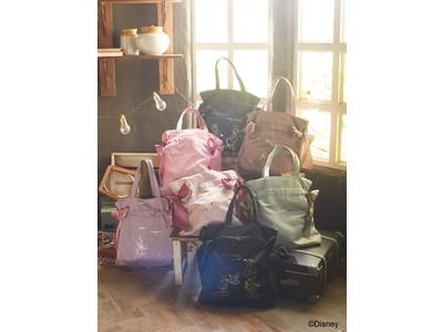 【Maison de FLEUR】Disney collectionよりブランド大人気の『ダブルリボントートバッグ』が初登場~ミッキー&ミニーやブランド初のティンカー・ベルなど7種類のラインナップ~