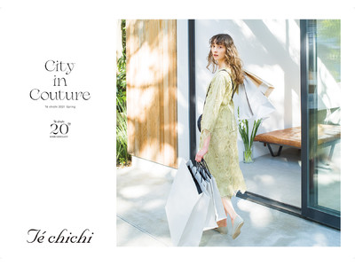 """働く女性へ""""大人の可愛らしさ""""を提案するブランド「Te chichi」20周年Anniversary~Anniversary企画第1弾は大人気リバティプリントの特別アイテム~"""