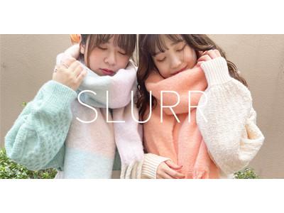 通販限定ブランド「SLURR」10月18日ルミネエスト新宿に初のPOP UP SHOPオープン!