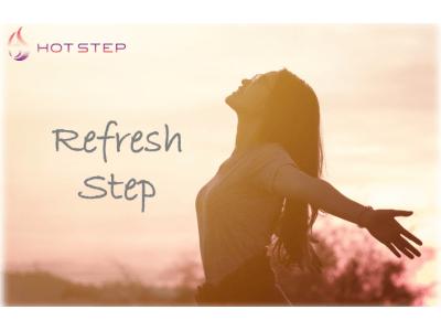 """【女性専用ホットスタジオ「HOT STEP」】""""ヨガ"""" × """"ステップ""""=Refresh Step 新登場!"""