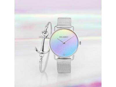 不思議きれいなレインボー時計!PAUL HEWITT(ポールヒューイット)から光や見る角度によって色が変わる新作時計が登場!