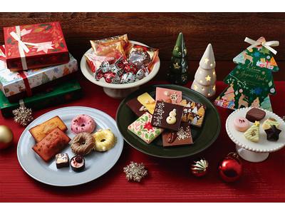 東京・白金の洋菓子ブランド「ラ・メゾン白金」より、クリスマスコレクションが登場