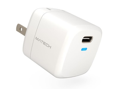 【MATECH】折り畳み式で世界最小サイズ!最大20W出力の超小型急速充電器「Sonicharge Dice 20W」を予約販売開始