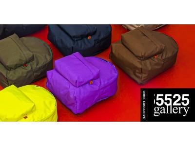 昨今巷の話題を集めるブランド、「5525gallery 」とのコラボバッグが登場!!カラフルな Backpackがラインナップ!