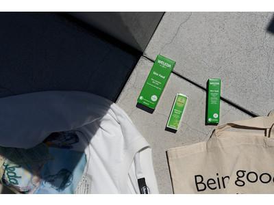 オーガニック化粧品ブランド「WELEDA」と ジェンダーレスなアクティブウェアブランド「Uiscel SENSE OF PLACE」のスペシャ ルコラボレーションアイテムが登場!