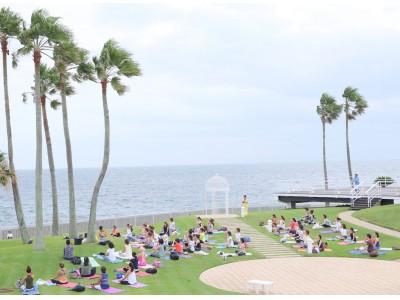 BioreU presents  Premium Ocean 【YOGA】&【RUN】in リビエラ逗子マリーナ。ヨガとランでウェルネスな暮らしへの第一歩。新しいチャレンジをBioreが応援します!