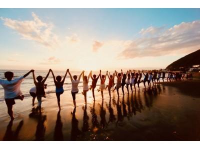 5周年を迎える湘南最大規模のビーチヨガイベント、「SHONAN BEACH YOGA WEEK in HAYAMA」が今週末の9月28日(土)より一色海岸にて開催!