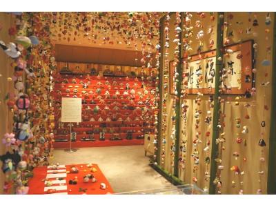 約800本のつるし雛とひな人形103体の豪華十三段雛飾りが登場 第4回 ひな人形鑑賞会 開催