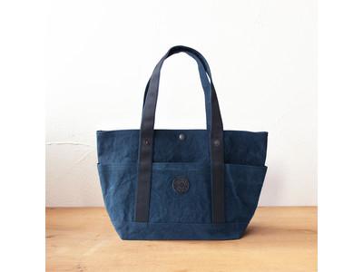 「ビッグエコバッグ」帆布の老舗・タケヤリで人気のエコバッグに、大きめサイズが仲間入り!