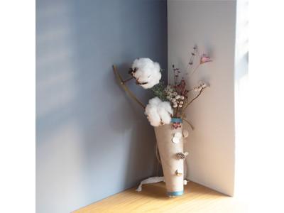 【おうち時間を彩る】新鮮な春の気分を。「春の花のオーナメント」が作れる専用キットを帆布の老舗・タケヤリより発売!