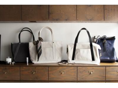 タケヤリ(TAKEYARI)がフェリシモとコラボレーション、人気の撥水タイガー帆布を使用した軽量トートバッグが誕生。