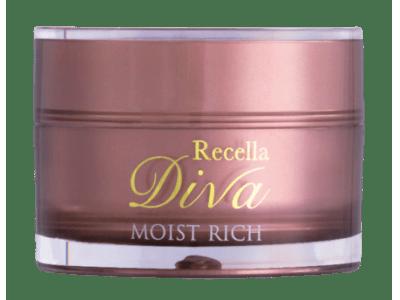 エステティックサロン専売化粧品トップシェアのドクターリセラ「Recella Diva」から「リセラ ディーヴァ モイストリッチ」(保湿クリーム)を2019年11月7日新発売!