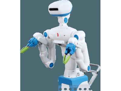 人と一緒に弁当のおかずを盛り付ける、協働人型サービスロボットの試作機を発表