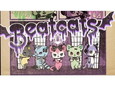 """新章突入!キュートな猫たちの正体は""""ヴァンパイア""""!?セガトイズ×サンリオプロデュースのダンスボーカルユニット「Beatcats」第5弾デジタルシングル&MV『Mew Mew Vampire』リリース"""